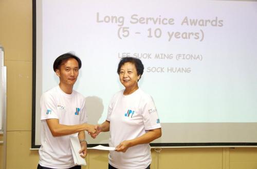 Long Service Reward